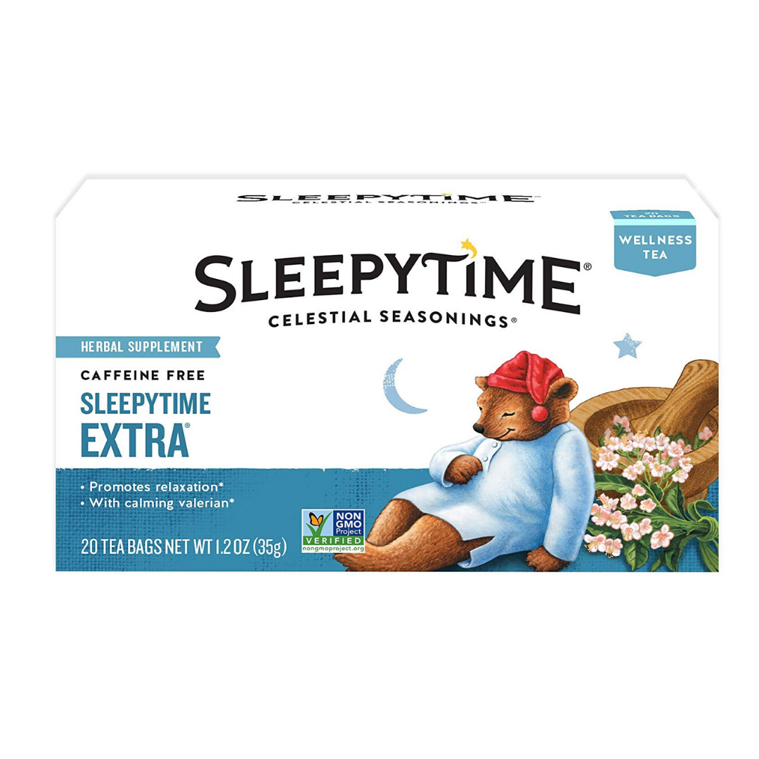 Celestial Seasonings Herbal Tea, Sleepytime Extra